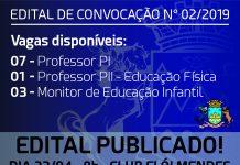 Edital de Convocação n° 02/2019